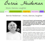 BernieHeideman.com - from the design portfolio of Aaron Jerad.