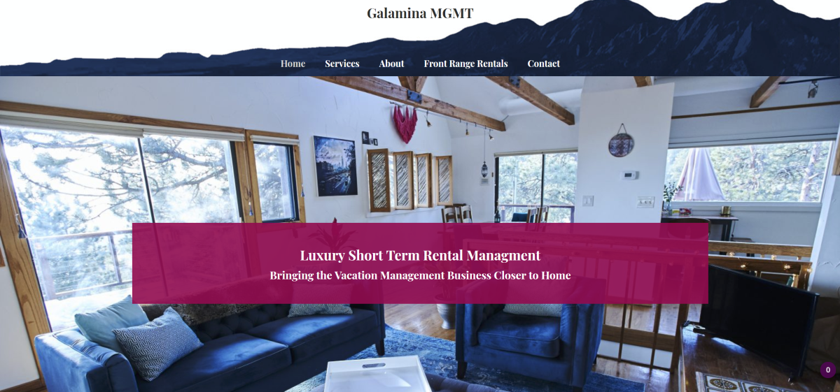 Galamina MGMT Website
