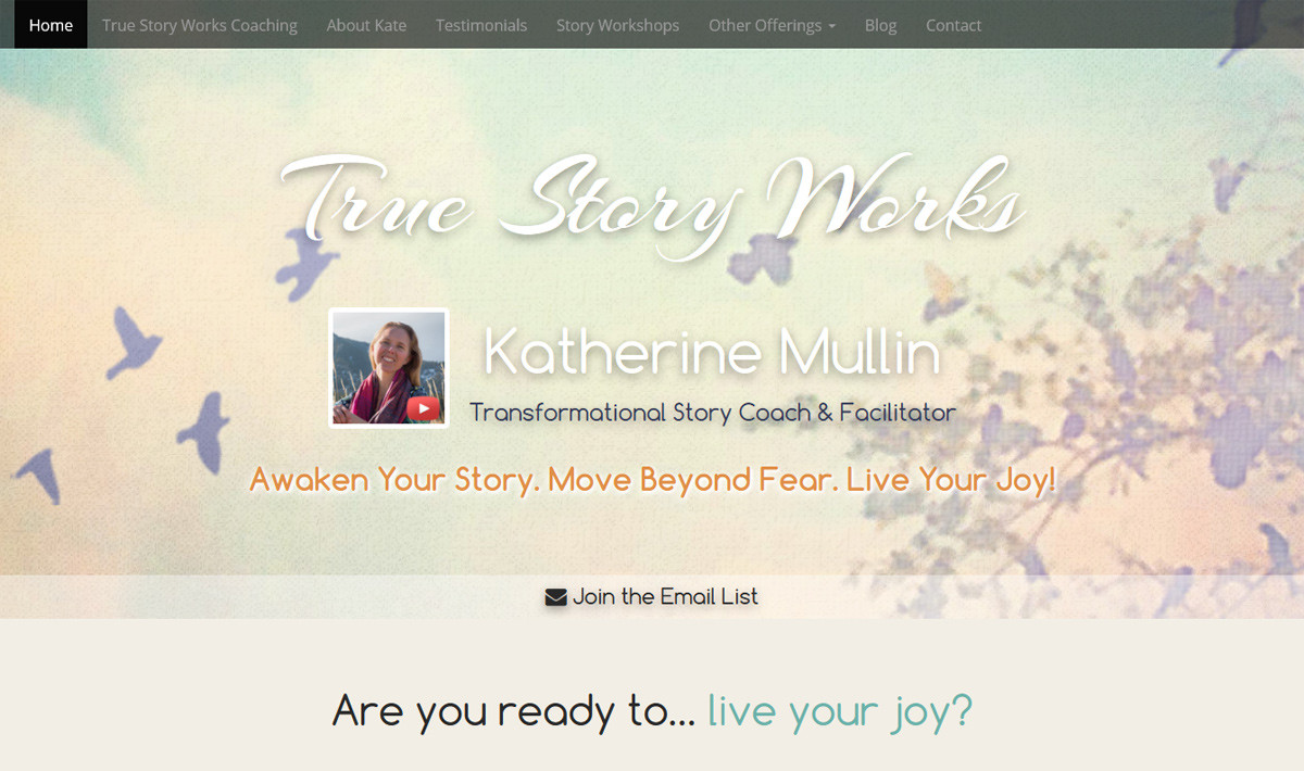True Story Works Website