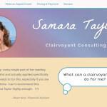 SamaraTaylor.com Site design by Aaron Jerad Designs