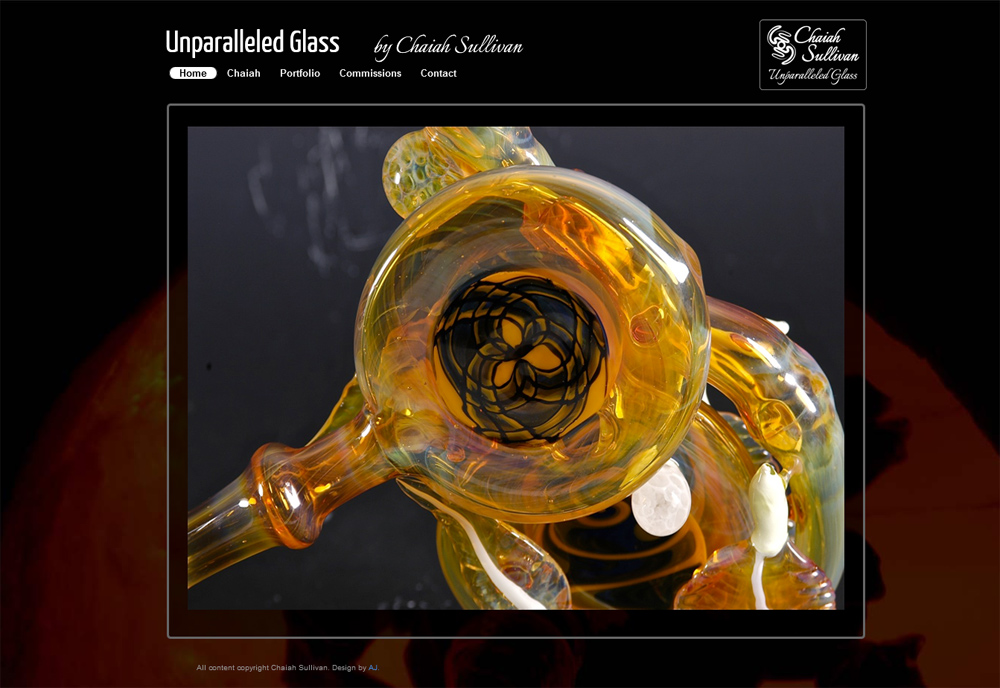 Unparalleled Glass Website
