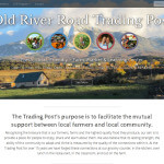 The new design of the Old RIver Road Trading Post webstie.