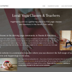 Yoga Paonia Website Design By Aaron Jerad
