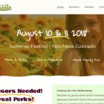 Farm to Fiddle Festival Hotchkiss Web Design