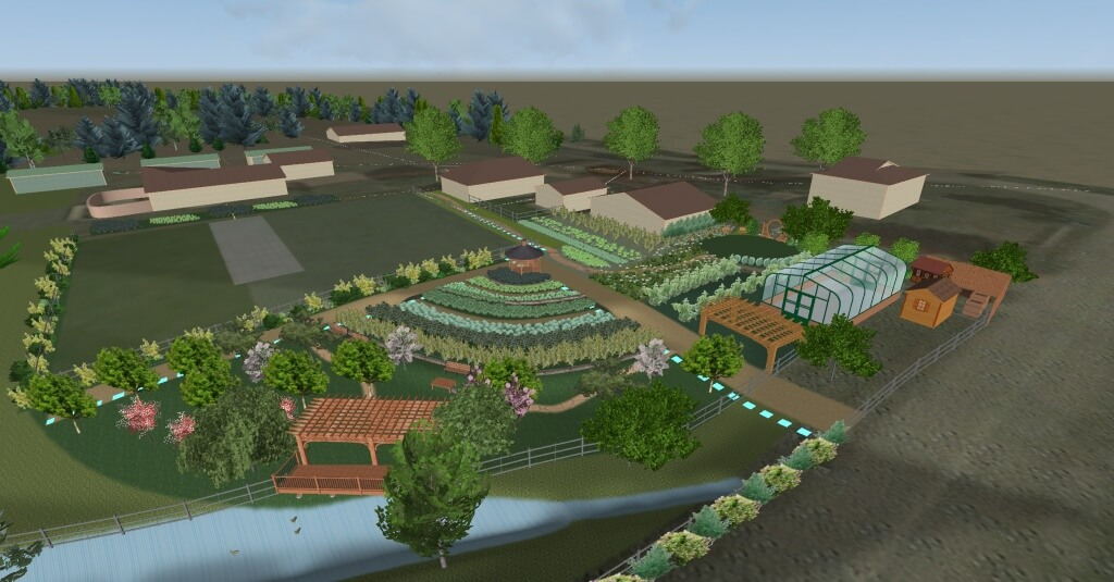 Garden design and consulting for farm retreat center for Garden consultant