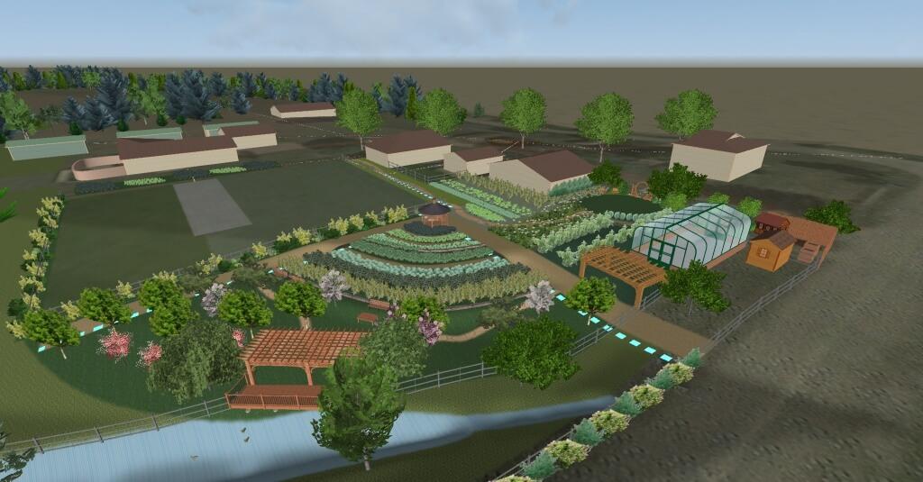 Garden design and consulting for farm retreat center for Garden consultant
