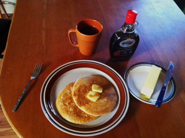 The best gluten-free (sourdough) pancakes… ever.