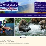 Run Wild Alaska Website Snapshot
