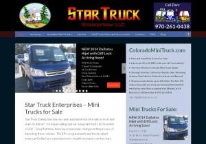 starttruck enterprises website snapshot
