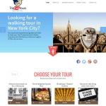 Top Dog Tours NYC Website Design By Aaron Jerad