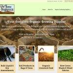 Paonia Farm and Home Organics Website