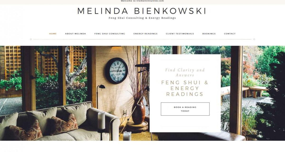 Melinda Bienkowski – Feng Shui Website