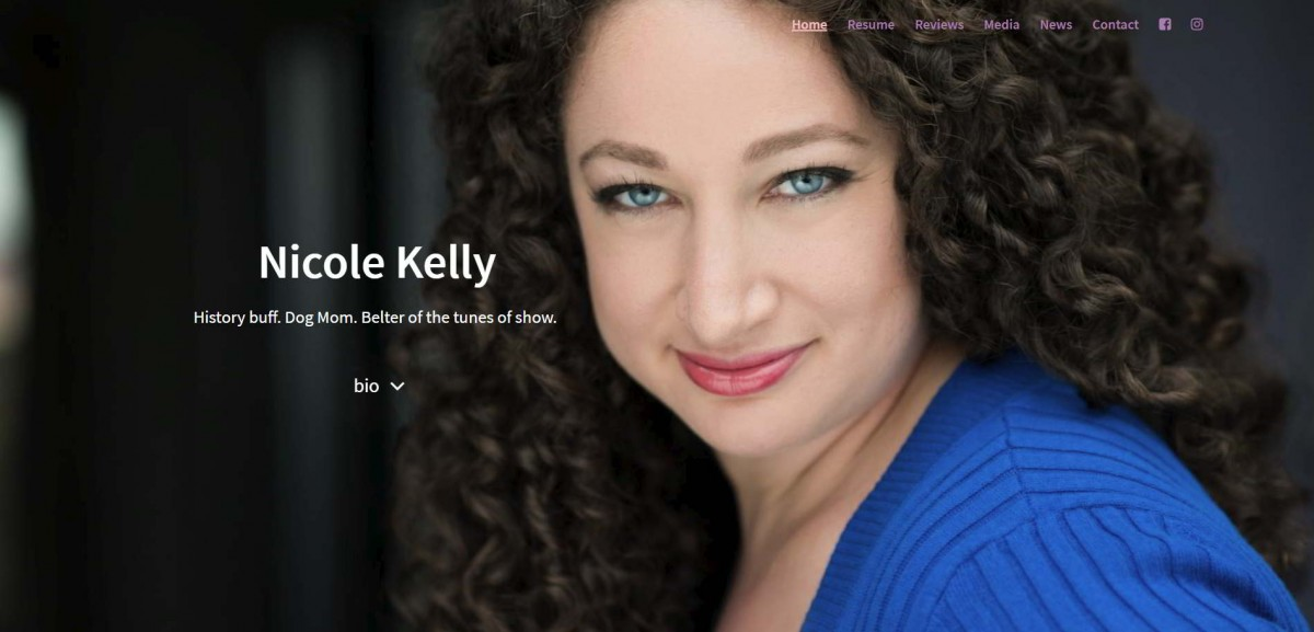 Nicole Kelly Website