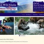 Run Wild Alaska Website Snapshot